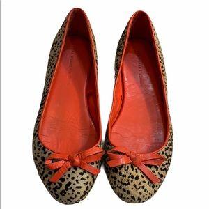 Zara Cheetah Print Flats